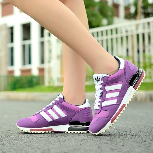 阿迪运动鞋三叶草ZX700慢跑鞋女鞋夏季新款透气跑步鞋正码厚底鞋 价格:185.00
