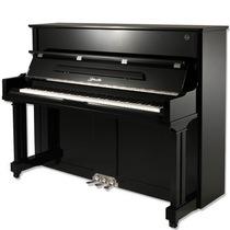 【玛雅琴行】珠江里特米勒天籁系列UP-123TL立式钢琴连琴凳带缓降 价格:17850.00