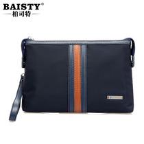 baisty男士手拿包欧美时尚休闲大容量尼龙布包手抓包手包夹包小款 价格:79.00