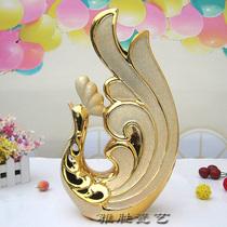 旺财助运金公鸡陶瓷工艺品家居酒柜摆件装饰结婚庆送人礼物品风水 价格:118.00