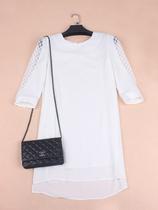 意大利女性时装~Maxmara镂空中长袖女士雪纺连衣裙 完美版型 价格:780.00