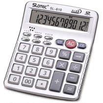 世龙达(SLDTEC)610 12位 语音 桌面计算器 银色 价格:29.00