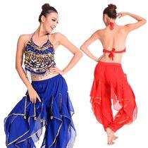 肚皮舞套装新款服装练习套装印度舞演出服套装小辣椒套装 S13+K13 价格:49.50