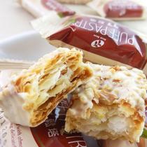 台湾进口零食宏亚77松塔 千层酥 蜜兰诺 1份12个 6份包邮还送礼 价格:16.65