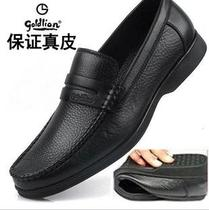 金利来男鞋专柜正品  特价新款男式鞋真皮头层牛皮中年休闲皮鞋男 价格:99.00