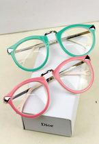 B34/凯伦沃克金属箭头平光镜 潮粉色大框眼镜架眼镜框 近视配眼镜 价格:23.80