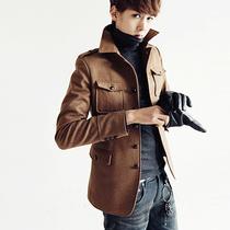 夹克男韩版加厚保暖潮流修身型男装外套青春流行时尚都市秋冬装 价格:125.00