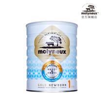 Molyneux萌力优 金装婴儿配方奶粉1段 900g 新西兰原装原罐进口 价格:330.00