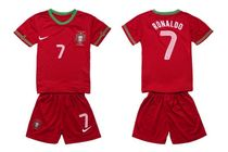 portugal 2012-2013 home kids/baby shirts 7#RONALDO 价格:65.00