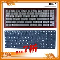 三星 R580-JS01 JS02 JS03 JT03CN�I彩色键盘膜 黑色保护膜 印字 价格:15.80