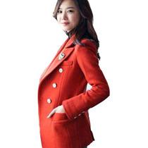 【淘牛品】秋款女装西服韩国大码毛呢小西装短款毛呢大衣女外套88 价格:128.00