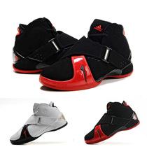 专柜正品麦迪5代篮球鞋T-MAC 麦迪五代4麦蒂6代战靴黑红 特价包邮 价格:288.00