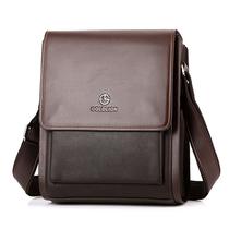 2013新款金利来男包男士正品单肩包斜跨包休闲包真皮包复古包包 价格:138.00