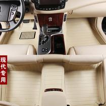 全包围汽车脚垫现代IX35索纳塔8八代新胜达悦动途胜朗动专用脚垫 价格:198.00