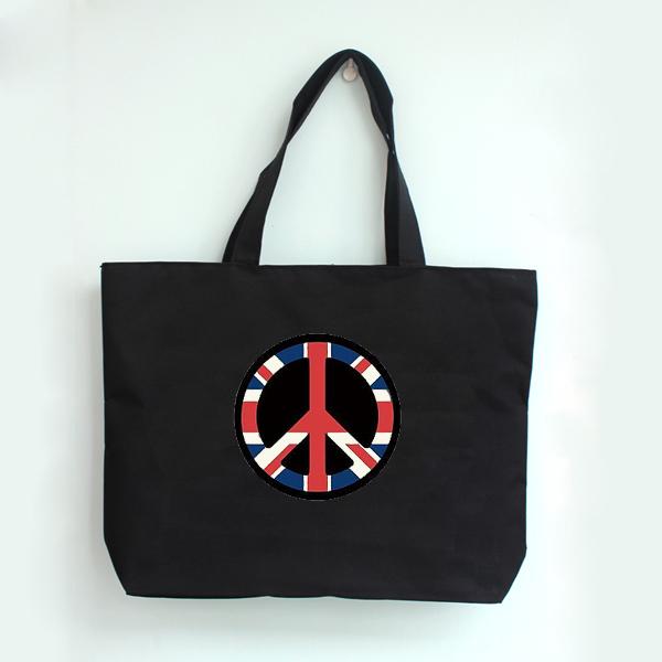 原宿潮牌 反战包 英国国旗天空 手提包 手提袋 环保购物袋 帆布包 价格:29.90