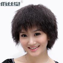 佰丝堂真人发 中老年假发短发 女 真发 头套 真发 假发套妈妈z033 价格:298.00