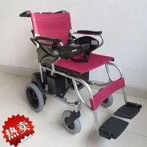 互邦电动轮椅2013款残疾人老年人代步车可折叠铝合金烤漆电子刹车 价格:3498.00