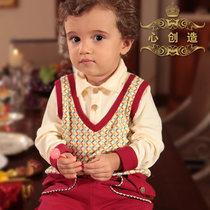 婴幼儿秋装男童秋装2013新款婴儿服装3岁2岁1岁男宝宝秋装套装潮 价格:158.00