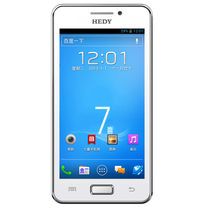 HEDY/七喜H711双核1G 4.3英寸IPS 联通3G 智能手机双卡安卓包邮 价格:499.00