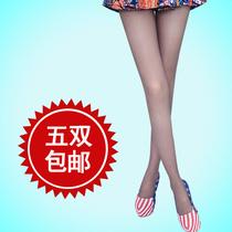美腿袜瘦腿袜防勾丝隐形正品燃脂连裤袜春秋夏季超薄款打底丝袜子 价格:6.30