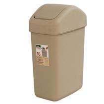 飞达三和摇盖垃圾桶G2060 时尚创意家用厨房卫生间纸篓垃圾桶 10L 价格:28.00