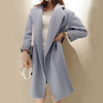 2013秋冬装新款 韩版呢子外套 韩国中长款加厚羊毛呢大衣 女 价格:268.00