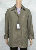 比华利BEVERLI HILLS男装秋冬商务休闲中长风衣外套双层原价3580 价格:398.00