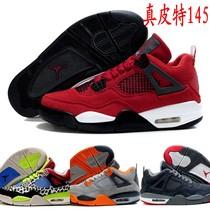 2013乔丹4代 正品air jordan 4 retro 乔4反毛皮 乔丹4代男篮球鞋 价格:145.00