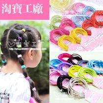 韩式简易糖果宝宝儿童发绳发圈发饰头饰饰品直销成扎 价格:1.65