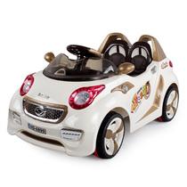 华达童车 儿童电动车 四轮遥控可坐电瓶车 跑车汽车 宝宝玩具车 价格:498.00