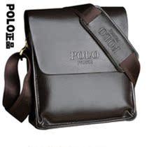 凡客保罗polo牛皮kuabao手提箱包男士单肩皮包真皮男士包袋nanbao 价格:96.00