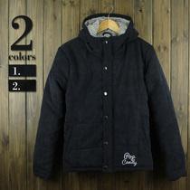 新款日系韩版外贸潮男士短款修身加厚连帽棉服冬装外套灯芯绒棉衣 价格:149.00
