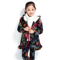 4-6-8-10十二4十六岁小女孩儿童装女童中大童秋冬装加厚2件套装潮 价格:128.00