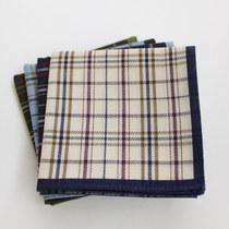 【棉之乐】特柔 出口日本 绅士条纹 男士全纯棉手帕手绢 价格:15.00