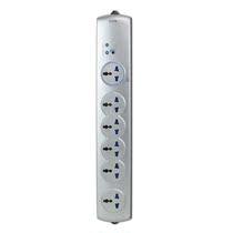 源自瑞士 GAO六位主控防雷电源转换器 家庭影音防浪涌插排插线板 价格:87.60