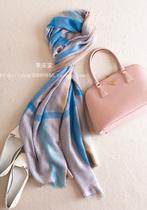 最唯美舒适 最轻柔飘逸 最超值的丝羊绒围巾 必收2色! 价格:260.00