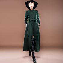 裙语阁呢子外套2013新款秋冬外套大衣女毛呢外套斗篷外套大衣女潮 价格:399.00