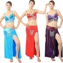 冲冠特价 肚皮舞服装 印度舞演出服 肚皮舞套装裙 新款大套W04 价格:75.00