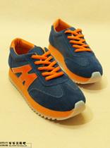 新款夏季韩版阿甘鞋运动休闲鞋厚底鞋M糖果色低帮板鞋女鞋松糕鞋 价格:42.00