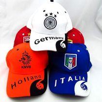 世界杯欧洲杯德国法国西班牙意大利荷兰英格兰球队太阳鸭舌帽子 价格:15.00