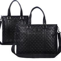 Gucci商务公文包 正品代购古奇男包手提包男士真皮牛皮电脑单肩包 价格:1220.16