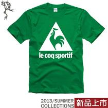 2013新款男装lecoqsportif法国乐卡克大公鸡男款短袖t恤非正品 价格:42.00