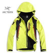 专柜正品 ARCTERYX/始祖鸟 男女士防风防水两件套户外冲锋衣 价格:999.00
