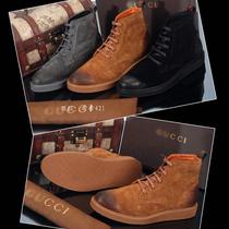 秋冬季男式高帮鞋CUCCI潮流酷奇英伦韩版休闲鞋男鞋潮鞋短靴鞋子 价格:358.00