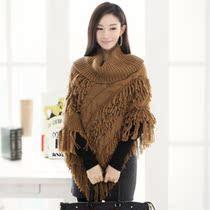 秋装春装韩版女装披肩型修身百搭复古显瘦甜美高领女士毛衣包邮 价格:39.00