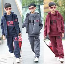大童装男童秋装2013套装8 9 10 11 12 13 14岁男孩儿童运动服套装 价格:138.00