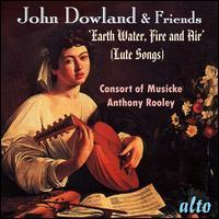 Anthony Rooley - John Dowland & Friends: Lute Songs 价格:126.00