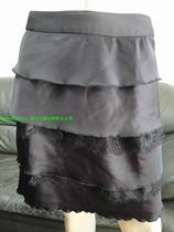 安娜丽斯 2011春夏 专柜正品 经典绣花蕾丝层次蛋糕中裙 A3025 价格:107.10