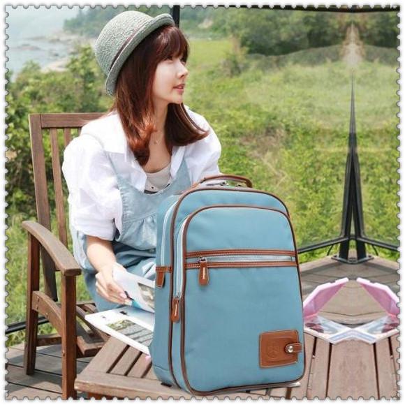 休闲肩包街头韩版帆布包袋背包女包 双肩包小 潮女包女 学生书包 价格:37.00