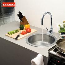 弗兰卡鲁加诺LUX610+CT900C不锈钢单圆槽水槽龙头套餐 价格:1249.00